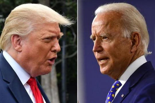 Ông Trump công kích mãnh liệt đối thủ Joe Biden là kẻ phá hủy nước Mỹ