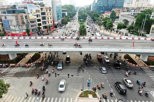 Hà Nội: Khánh thành cầu vượt tại nút giao đường Hoàng Quốc Việt - Nguyễn Văn Huyên