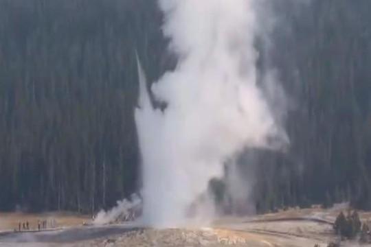 Mạch nước phun ở Yellowstone hoạt động sau hơn 6 năm ngủ yên