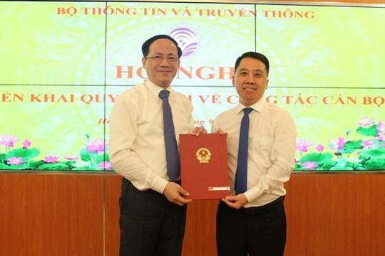 Bộ TT-TT biệt phái cán bộ làm Giám đốc Sở TT-TT Hậu Giang