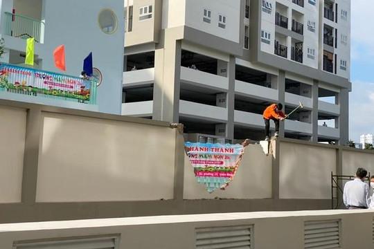 Người dân chung cư bức xúc vì đường nội bộ bị lấy làm đường công cộng