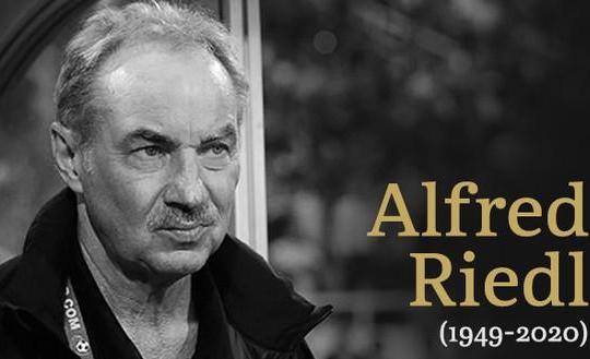 Công Vinh sốc nặng vì HLV Alfred Riedl qua đời