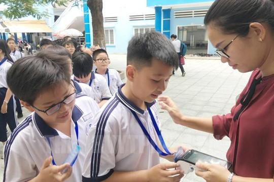 TP.HCM triển khai mô hình trường học thông minh không dùng tiền mặt