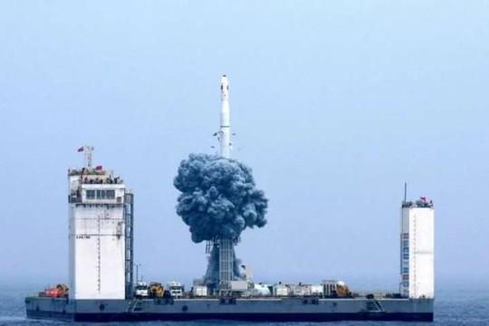Trung Quốc xây dựng sân bay vũ trụ trên biển để phóng tên lửa