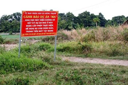 Tiếp tục cảnh báo nạn bán nền trên dự án 'ma' tại TP.HCM