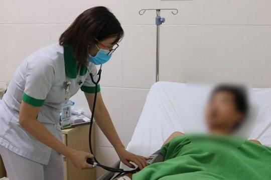 Chữa thành công bệnh nhân xuất huyết nội do vỡ lá lách bằng phương pháp nút mạch