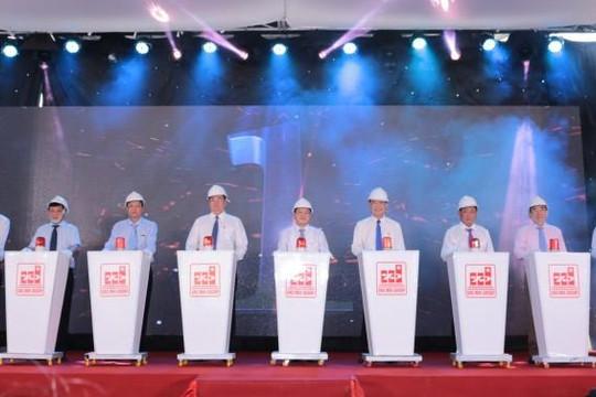 Lễ khởi động lắp đặt thiết bị Nhà máy điện mặt trời Sao Mai - Giai đoạn 2