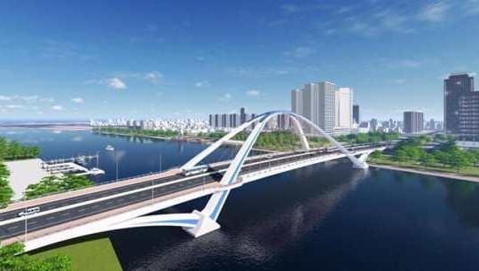 Cần Thơ: 791 tỉ đồng xây dựng cầu Trần Hoàng Na