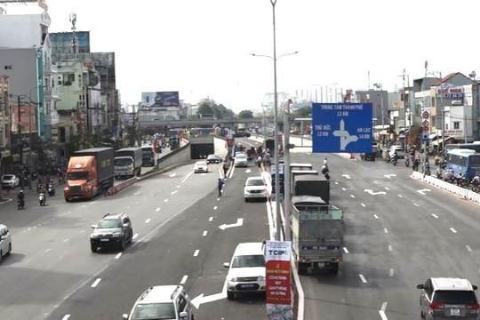 TP.HCM khánh thành toàn bộ nút giao An Sương, xóa ùn tắc giao thông