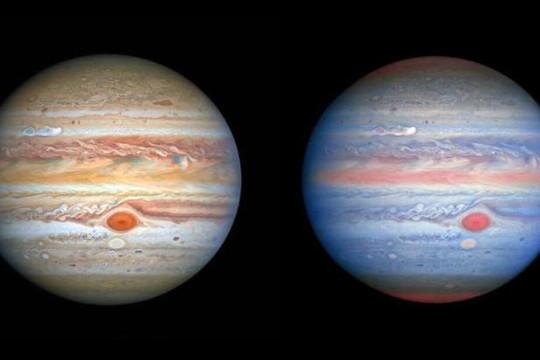 Sao Mộc tuyệt đẹp trong ảnh chụp bởi kính viễn vọng Hubble