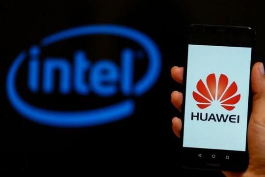 Mỹ nới lỏng lệnh cấm, Intel được bán chip cho Huawei