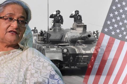 Mỹ dùng ngoại giao quốc phòng tách Bangladesh xa Trung Quốc