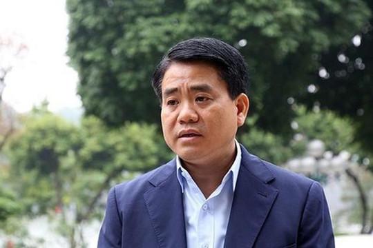 Ông Nguyễn Đức Chung bị bãi nhiệm chức danh Chủ tịch UBND TP.Hà Nội