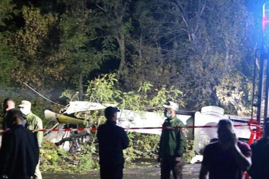 Ukraine: Rơi máy bay quân sự, 22 người chết