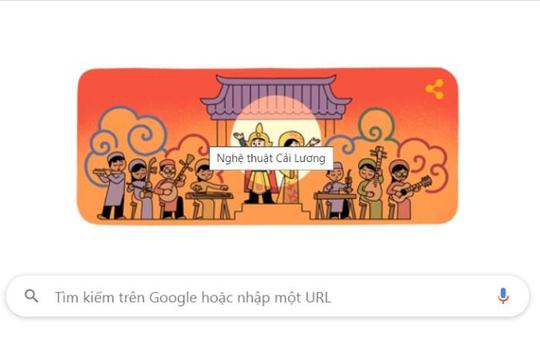 Nghệ thuật cải lương Việt Nam được tôn vinh trên trang chủ Google
