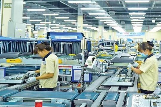 8 tháng, vốn FDI đạt 21,2 tỉ USD, giảm 18,9%