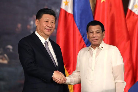 Trung Quốc tuyên bố Philippines đồng ý gác lại các tranh chấp trên Biển Đông
