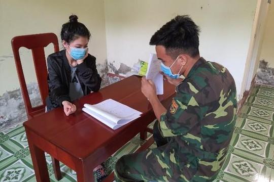 Hai phụ nữ lợi dụng mưa to vượt biên trái phép vào Việt Nam