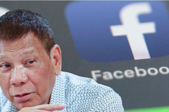 Tổng thống Philippines dọa trảm Facebook: 'Mục đích của bạn đến nước tôi là gì?'