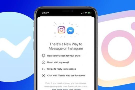 Facebook hợp nhất hệ thống nhắn tin Messenger với Instagram mặc lo ngại của nhà lập pháp