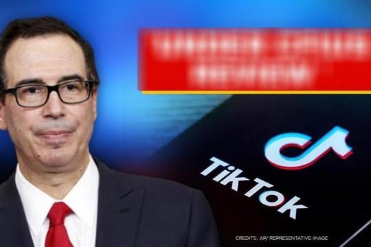 'Đóng cửa TikTok nếu thỏa thuận với Oracle không đáp ứng yêu cầu bảo mật'