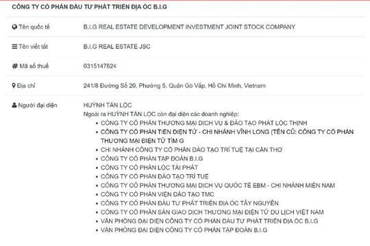 Lãnh đạo Công ty BĐS Hoàng Huỳnh Gia nhận tiền đặt cọc đất rồi... biến mất