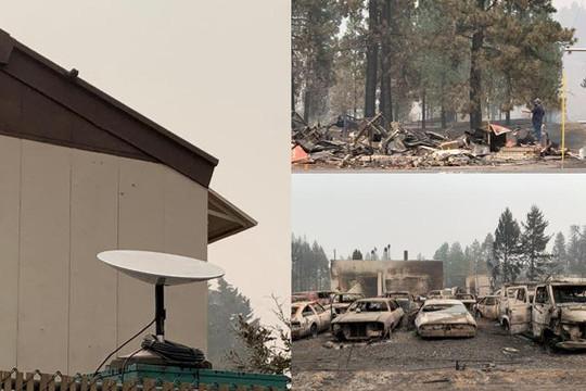 Các đội cứu hộ Mỹ sử dụng Internet vệ tinh Starlink khi làm nhiệm vụ