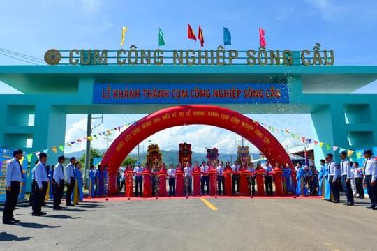 Yến sào Khánh Hòa làm lễ khánh thành Cụm công nghiệp Sông Cầu