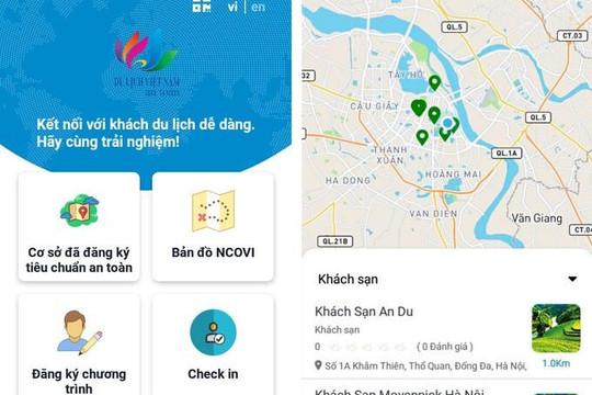Ứng dụng thông minh 'Du lịch Việt Nam an toàn' sẽ ra mắt trong vài ngày tới