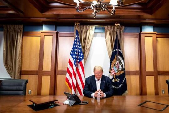 Đài Loan mong ông Trump sớm hồi phục để dẫn đầu thế giới chống lại Trung Quốc