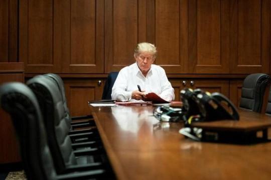 Bác sĩ nói Tổng thống Trump có thể trở lại Nhà Trắng hôm nay