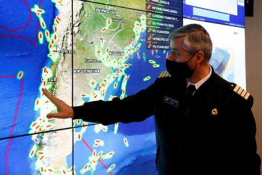 Các nước Nam Mỹ bất an trước các tàu cá Trung Quốc càn quét xa bờ