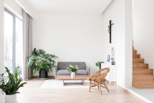 Không gian tối giản kết nối thành viên gia đình