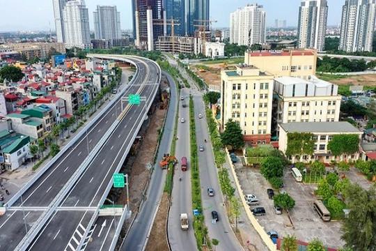 Hà Nội: Chính thức thông xe tuyến đường trên cao hơn 5.300 tỉ đồng