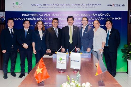Novaland và Mediverbung AG hợp tác thành lập liên doanh phát triển & vận hành phòng khám