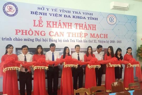 Bệnh viện Chợ Rẫy hỗ trợ Trà Vinh mở phòng can thiệp tim mạch