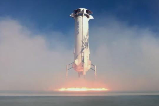 Blue Origin sắp phóng tên lửa tái sử dụng New Shepard