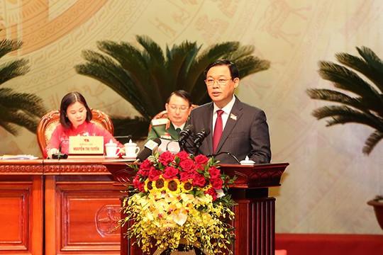 Ông Vương Đình Huệ tiếp tục làm Bí thư Thành ủy Hà Nội