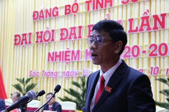 Sóc Trăng: Ông Lâm Văn Mẫn được bầu làm Bí thư Tỉnh ủy