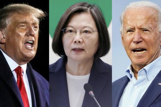 'Lằn ranh đỏ' của Trung Quốc với Đài Loan khi Biden nói Trump mềm mỏng với Bắc Kinh