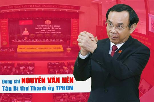 Ông Nguyễn Văn Nên làm Bí thư Thành ủy TP.HCM