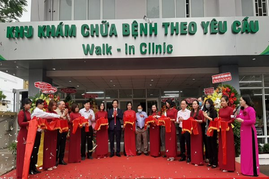 TP.HCM: Bệnh viện quận 2 mở khu khám chữa bệnh VIP, chất lượng cao