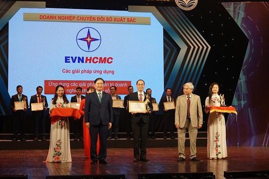 Tổng công ty Điện lực TP. Hồ Chí Minh đạt danh hiệu 'Doanh nghiệp chuyển đổi số xuất sắc – VDA 2020'