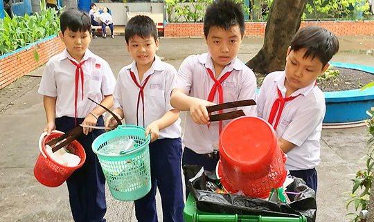 TP.HCM tăng cường bảo vệ môi trường trong khu vực trường học
