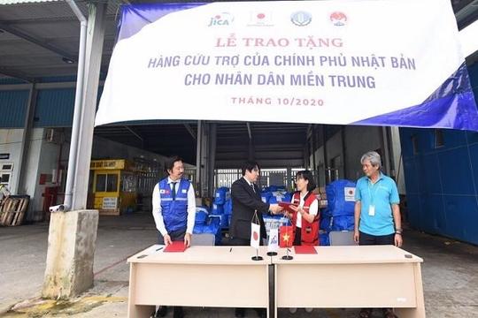 Nhật Bản viện trợ cho Việt Nam khắc phục hậu quả bão, lũ
