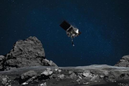 Tàu vũ trụ NASA lấy mẫu vật từ tiểu hành tinh Bennu thành công