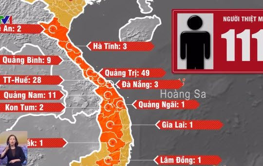 Sau Mỹ và Nhật, Hàn Quốc viện trợ 7 tỉ đồng giúp Việt Nam khắc phục hậu quả lũ lụt