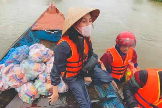 Xin Thủy Tiên trả lại gần 300 triệu đồng vì chỉ chuyển 300 ngàn hỗ trợ người miền Trung
