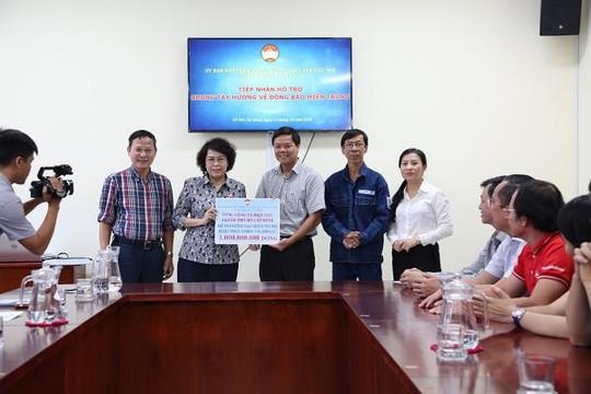 Tổng công ty Điện lực TP.HCM ủng hộ 500 triệu đồng đợt 2 đến đồng bào miền Trung