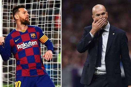 Zidane tự tin trước tin đồn bị sa thải nếu Real Madrid thua Barcelona tối mai